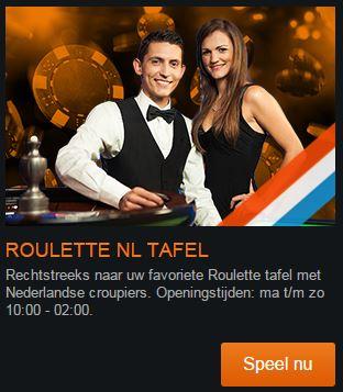 Live Roulette NL