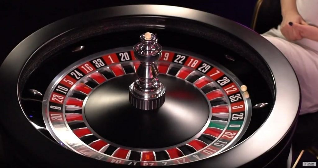 immersive roulette evolution gaming